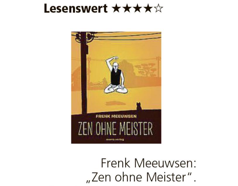 ZEN OHNE MEISTER in MÜNCHNER MERKUR