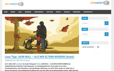 Serieasten.TV: Lese-Tipp: JAHR NULL – ALS WIR ELTERN WURDEN (Avant)