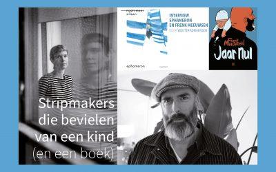 STRIPSPECIAALZAAK.BE: Interview Ephameron & Frenk Meeuwsen