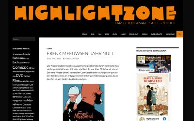Highlightzone.de Frenk Meeuwsen Jahr Null