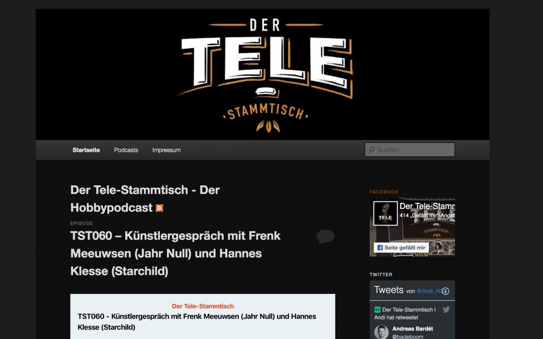 Der Tele-Stammtisch – Künstlergespräch mit Frenk Meeuwsen (Jahr Null)