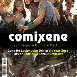Interview in German magazine COMIXENE